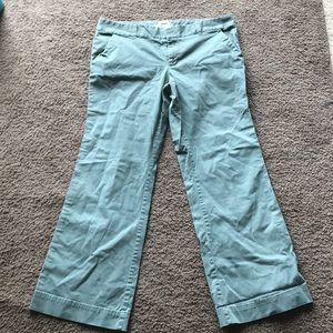 Old navy pants green size 14